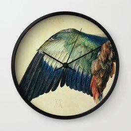 Albrecht Durer - Wing Of A Blue Roller Wall Clock
