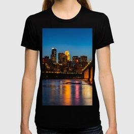 Stone Arch Bridge Illuminated T-shirt