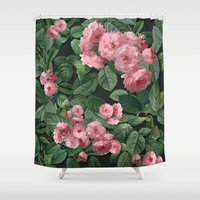 amelie Shower Curtains featuring Amelie by Marta Li