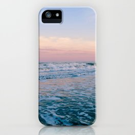 A Sea Foam Sunset iPhone Case