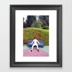 In the park Framed Art Print
