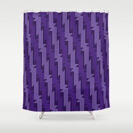 Op Art 87 Shower Curtain