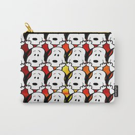Sunset snoopy Carry-All Pouch