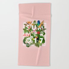 SUMMER of 2017 Beach Towel