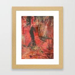 African Man Framed Art Print