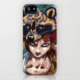 Abstract Gaara iPhone Case