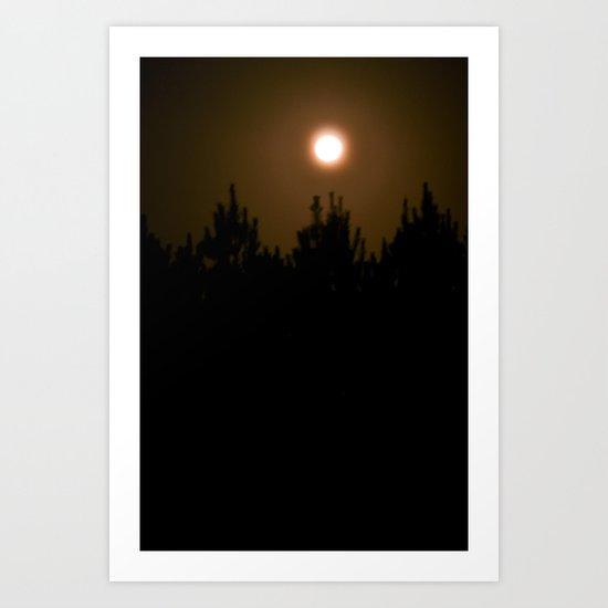 Bright Darkness Art Print