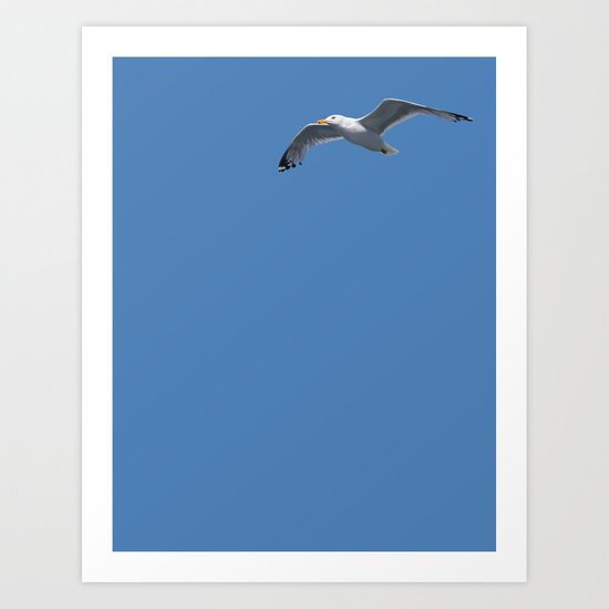 Blue Series #001 ~ Summer (wordless) Art Print