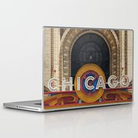 theatre Laptop & iPad Skins featuring Chicago Theatre by Joey Gessner