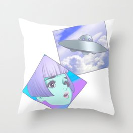 Lets g0 home Throw Pillow