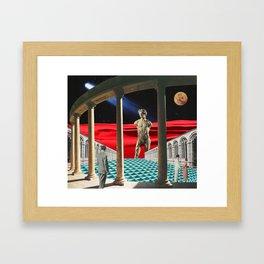 Red Dunes Framed Art Print