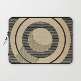 Vintage Saturn From Above Laptop Sleeve