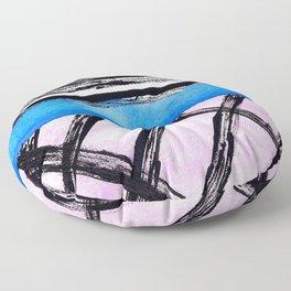 Handmade Geometry II Floor Pillow