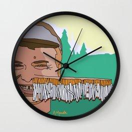 I love you mum Wall Clock