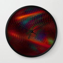 Cosmic Spiral Vortex Wall Clock