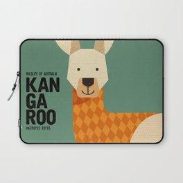 Hello Kangaroo Laptop Sleeve