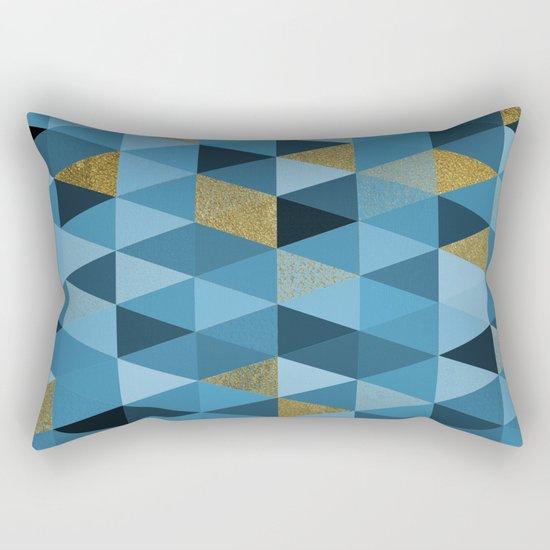 Abstract #328 Rectangular Pillow
