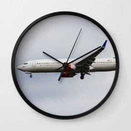 Scandinavian Airlines Boeing 737 Wall Clock