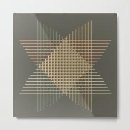 Abstract figure Metal Print