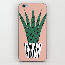 Cactus potted plant iPhone Skin
