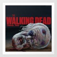 The Walking Dead Hershel Art Print