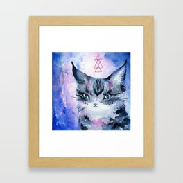 Lynx Cat : Magic Maker Framed Art Print