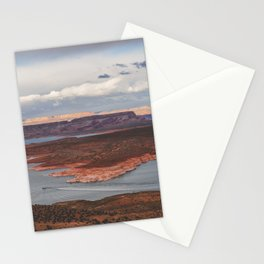 Cutting Through Lake Powell Stationery Cards