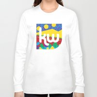 memphis Long Sleeve T-shirts featuring Memphis by KAYWAAL