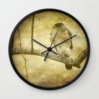hunter x hunter Wall Clocks featuring Hunter by Curt Saunier