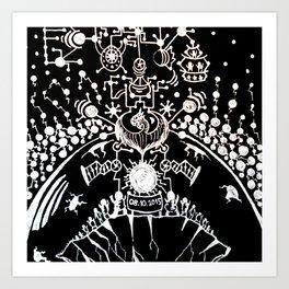 Black Book Series - New World Art Print