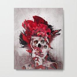 Poisonous Flowers Metal Print