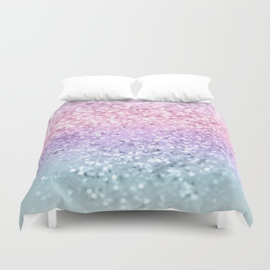 Unicorn Girls Glitter #1 #shiny #pastel #decor #art #society6 by anitabellajantz
