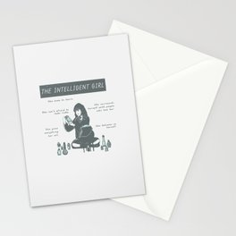 Hermione Granger / The Intelligent Girl Stationery Cards