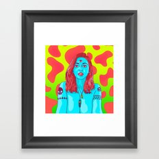 A HIGHER STATE OF CONSCIOUSNESS Framed Art Print