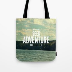 Seek Adventure Tote Bag