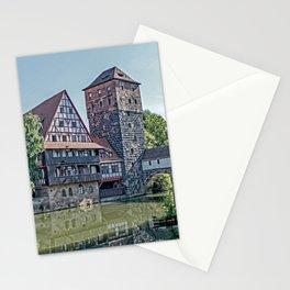 Romantic Nuremberg, -Franken-Bavaria-Germany Stationery Cards