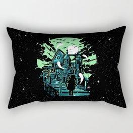 Haunted House Rectangular Pillow