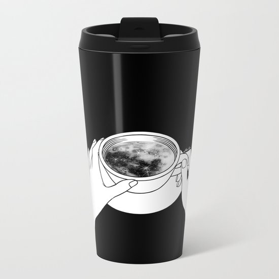 Morning please don't come Metal Travel Mug