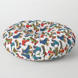 Roller-skate Confetti Floor Pillow