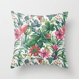 Garden pattern I Throw Pillow