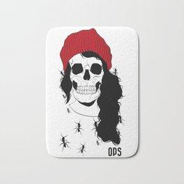 Skull - Digital Ilustration Bath Mat