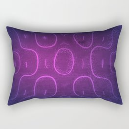 Chladni Pattern - Purple by Spencer Gee Rectangular Pillow