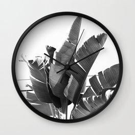 BANANA PALM TREE Wall Clock