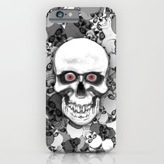 Skulls With Eyes iPhone 6 Slim Case
