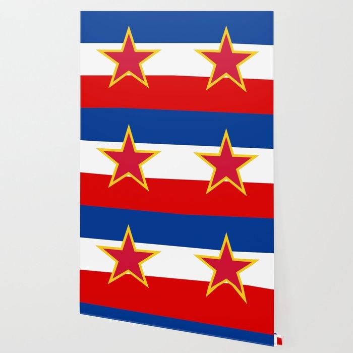Yugoslavia National Flag Wallpaper