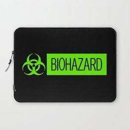 HAZMAT: Biohazard (Slime Green & Black) Laptop Sleeve