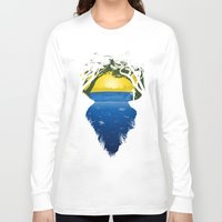 brasil Long Sleeve T-shirts featuring Brasil by Yuri Lobo