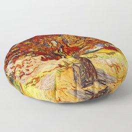 Vincent Van Gogh Mulberry Tree Floor Pillow