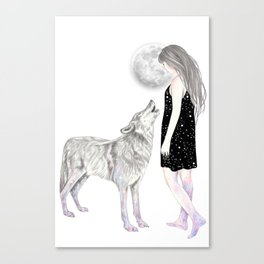Shining Star Canvas Print
