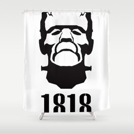 A Century of Horror Classics :: Frankenstein; Or, The Modern Prometheus Shower Curtain